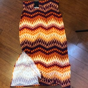 A.N.A. A New Approach Stretchy Maxi Skirt Large
